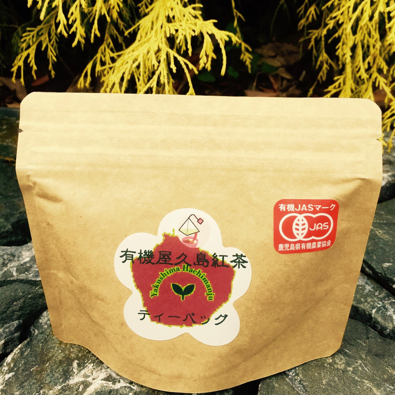 鹿児島県・屋久島の有機紅茶(ティーパック)