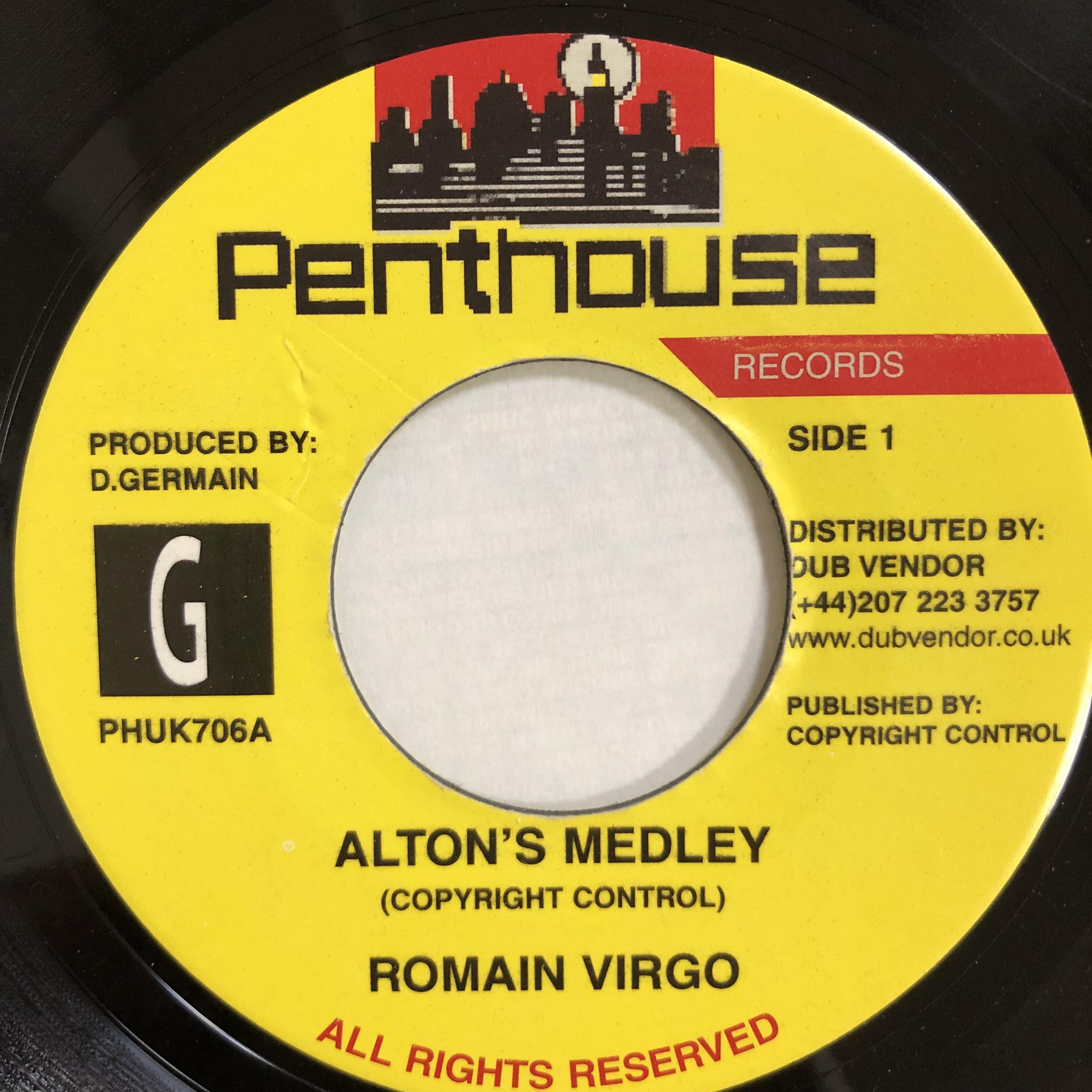 Romain Virgo(ロメインヴァーゴ) - Alton's Medley【7-20157】