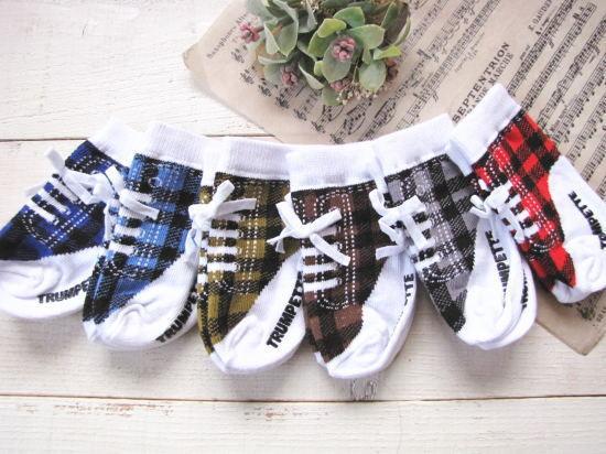 ベビーソックス・靴下*ジョニープレード/セレクト雑貨