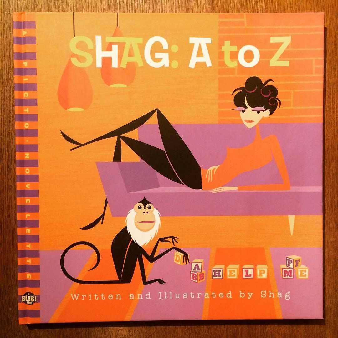シャグ イラスト集「Shag : A to Z」 - 画像1