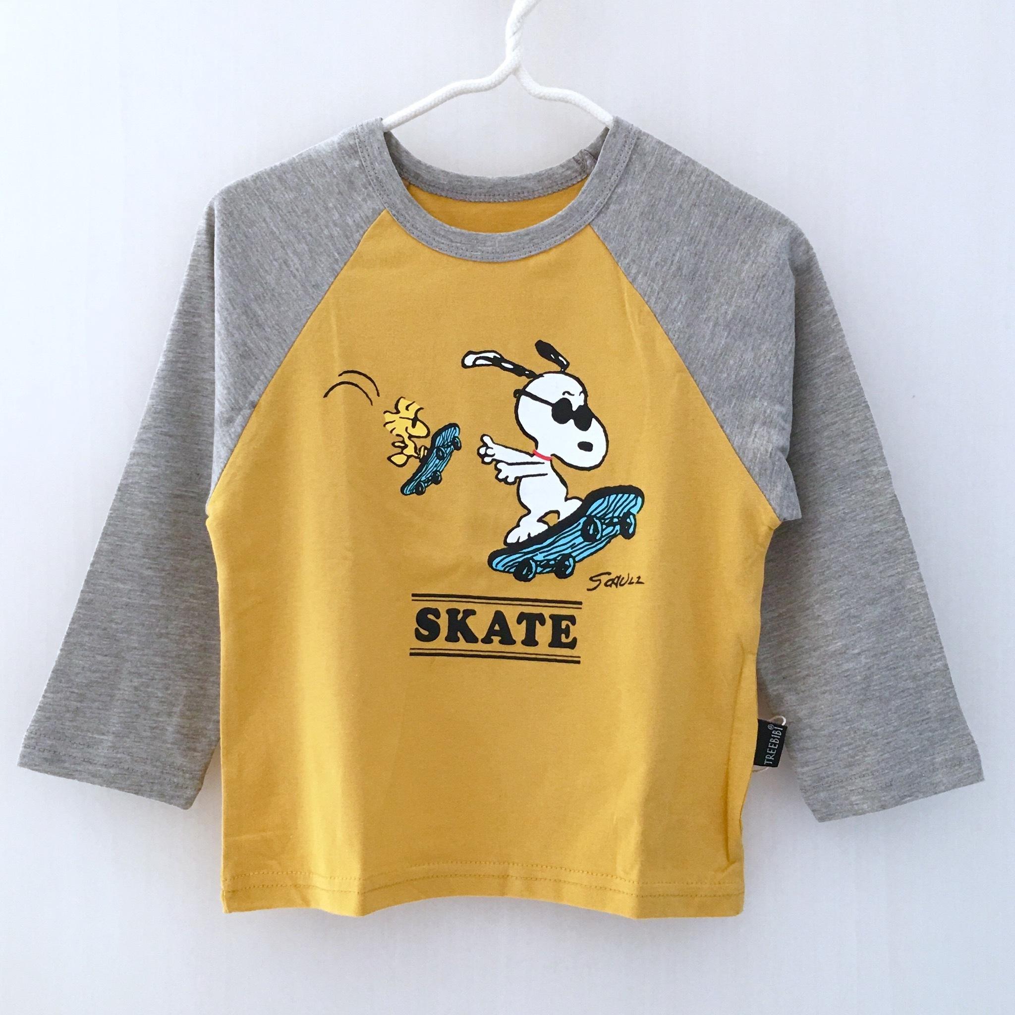 キャラロゴラグランT スケーター【630】