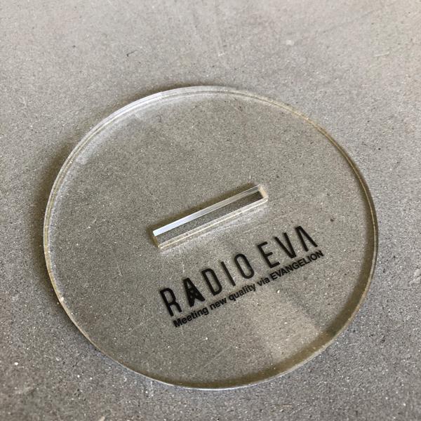EVASTOREオリジナル RADIO EVA アクリルスタンド_第3弾アスカ  / EVANGELION エヴァンゲリオン