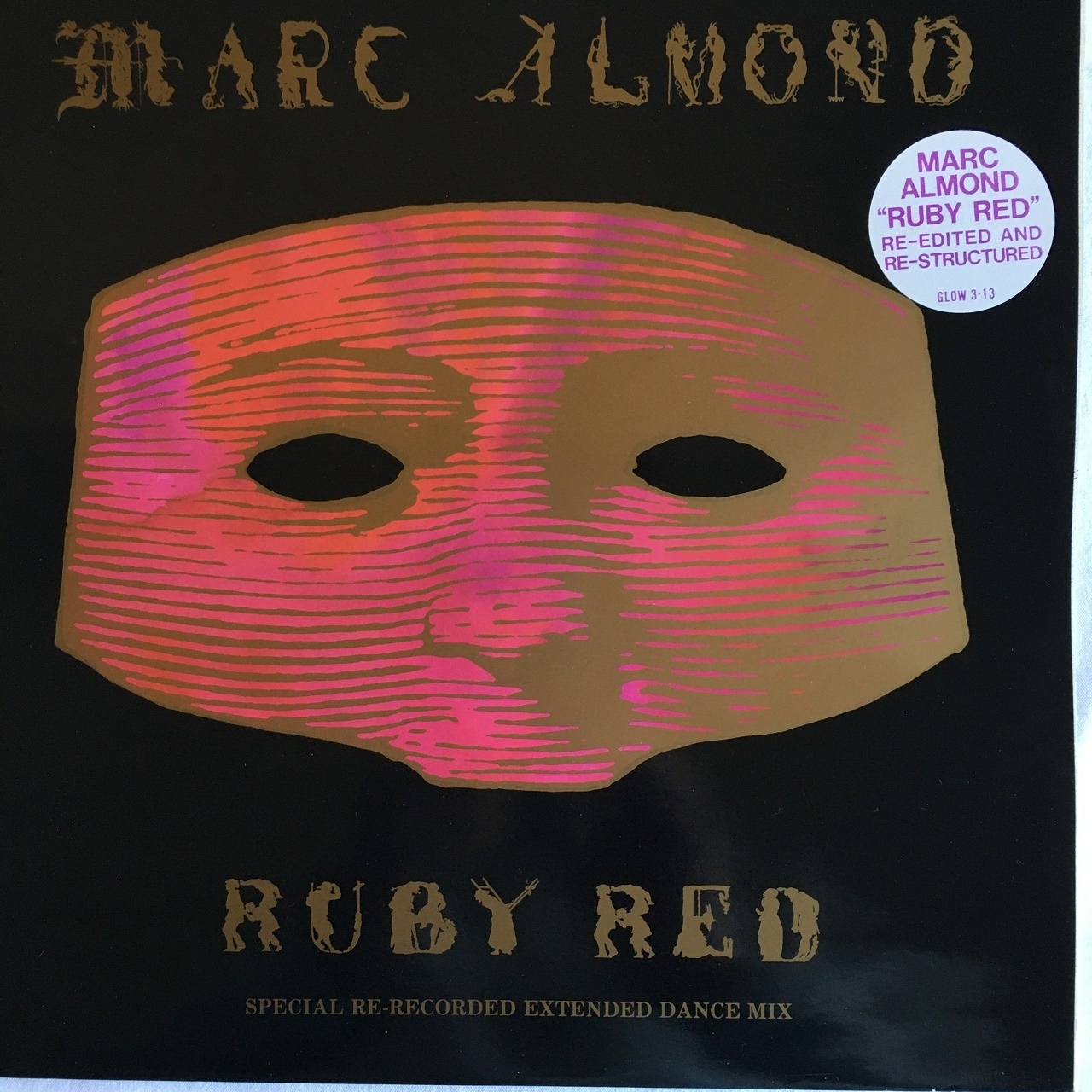 【12inch・英盤】Marc Almond  / Ruby Red (Re-Edited And Re-Structured)