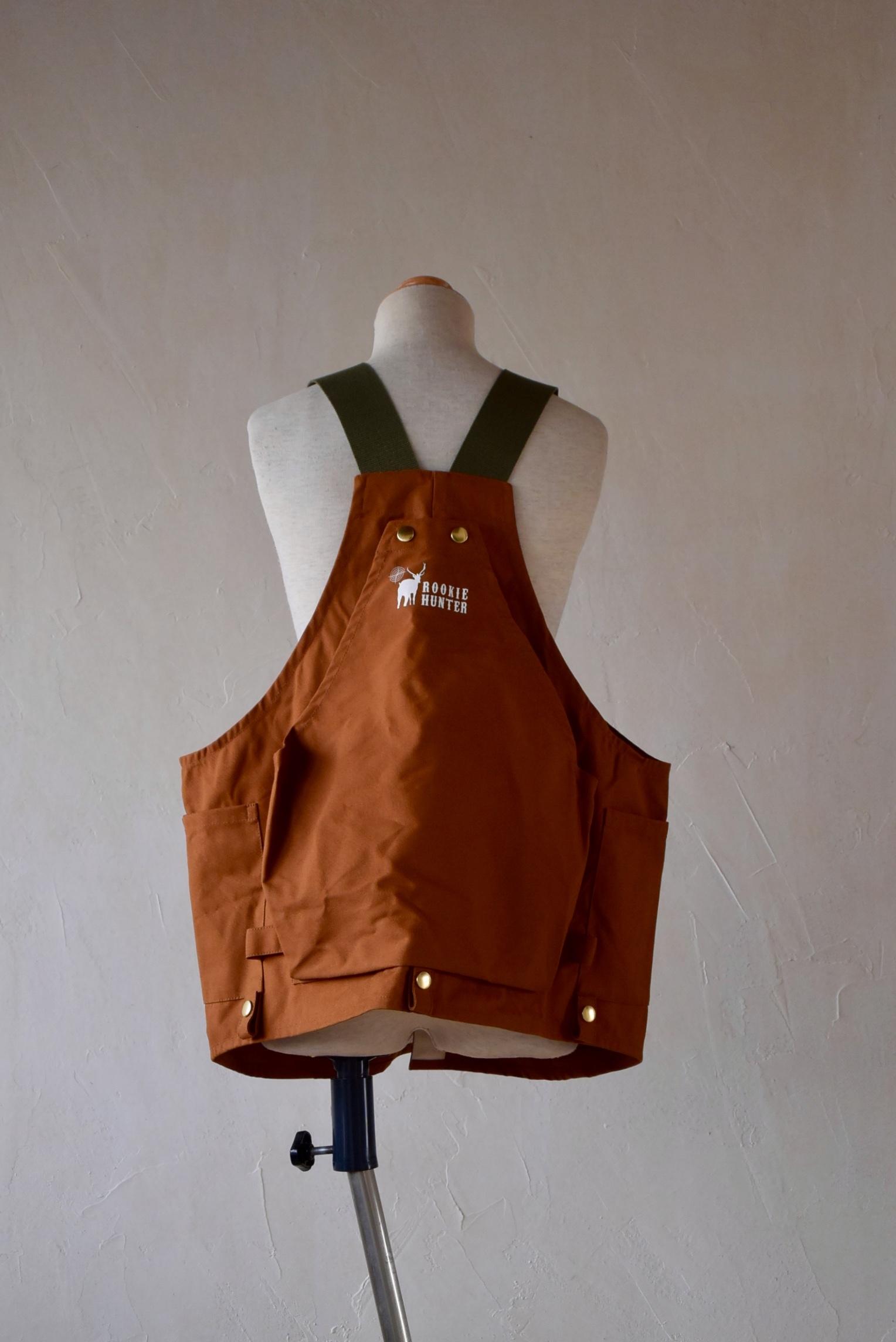 LAND & B.C.(ランド&ビーシー) Hunt vest キャメル