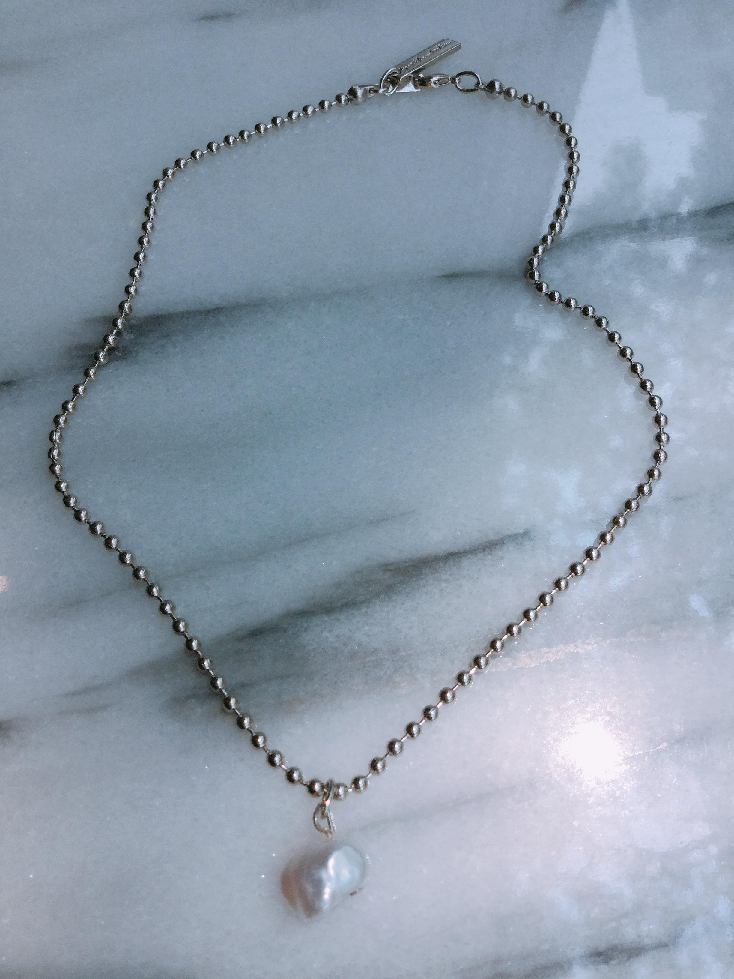 YURIKA AKUTSU    baroque Pearl necklace