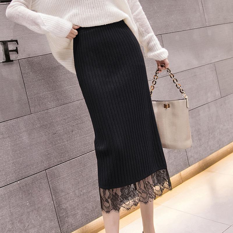 【bottoms】レース切り替えファッションスカート26722673