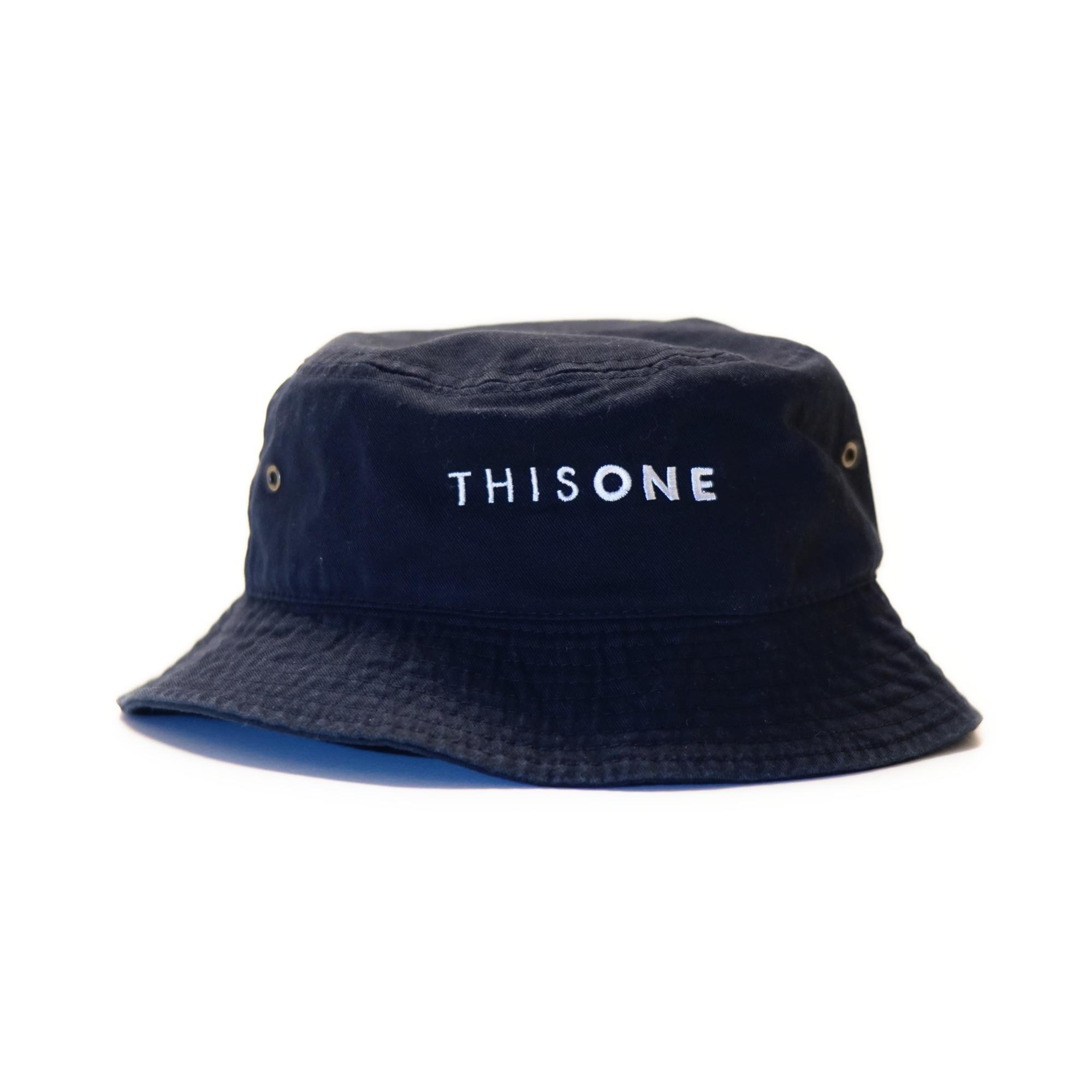 THISONE BUCKET HAT (BLACK)