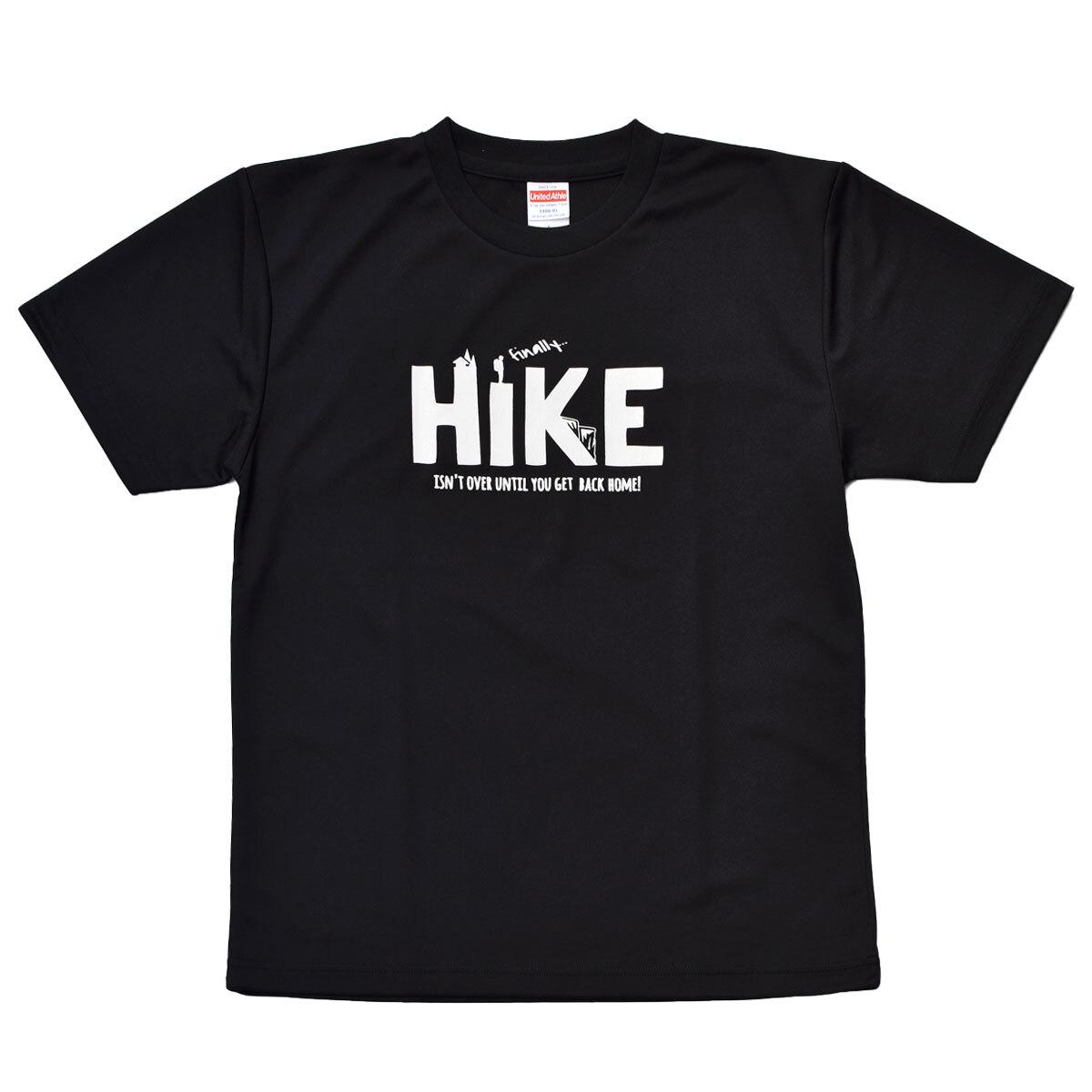 mountdoor マウントドア HIKE Tシャツ(ブラック)