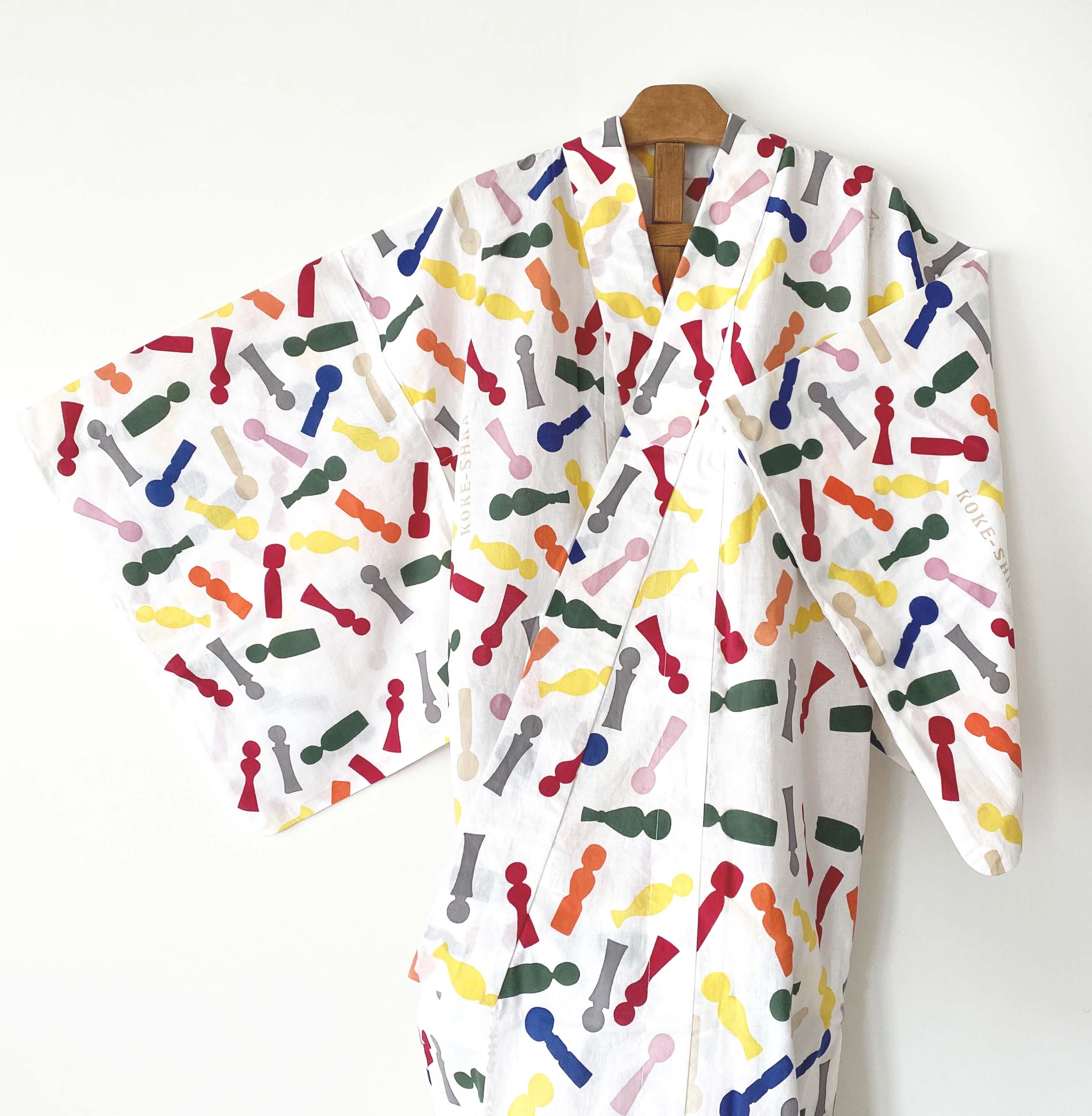 コケーシカオリジナル浴衣(特製うちわ付き)