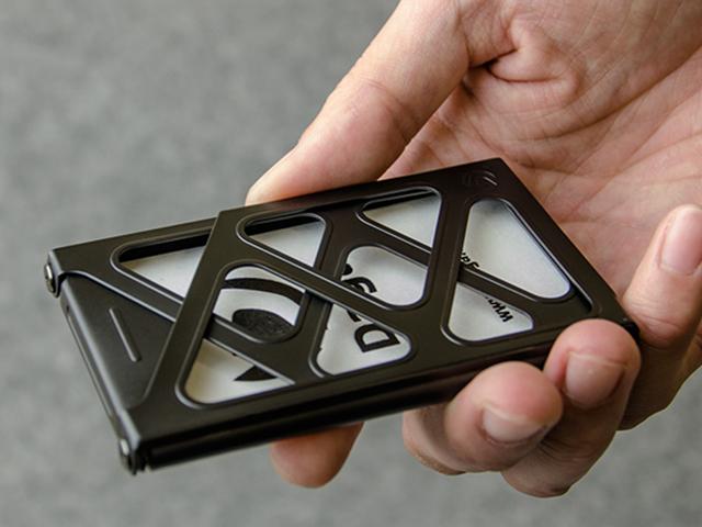 CERA-BLACK Titanium + CLIP Cardcase - 画像3