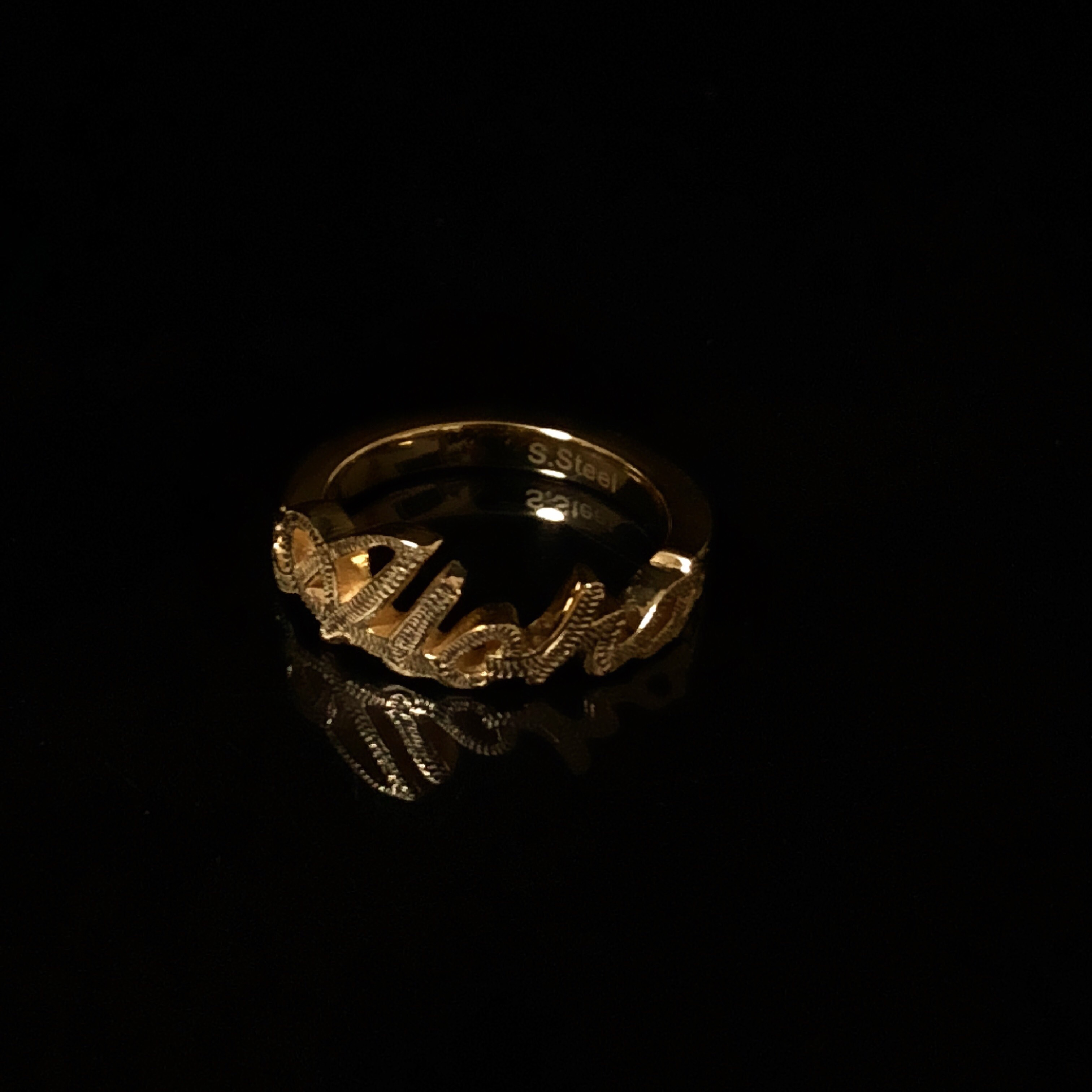 24kgp Hawaiian jewelry ring(aloha)