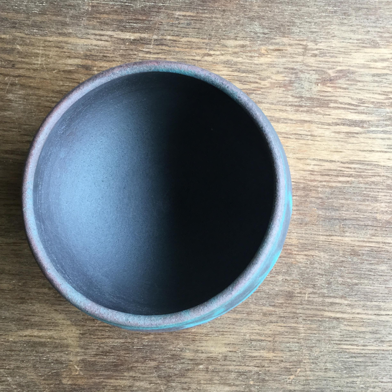 【菊地亨】 碗(赤土) 400 φ9.7㎝×h8㎝ 23 - 画像2