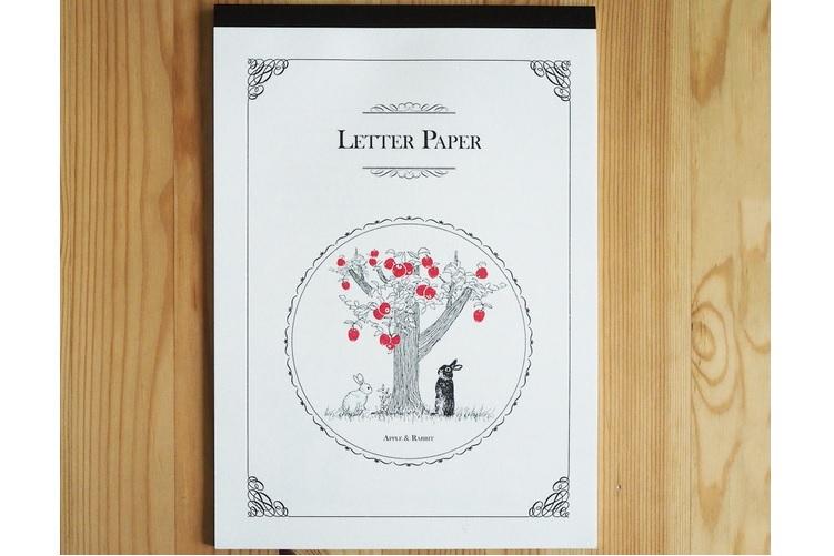 lulu STORE りんごの木とうさぎさんの便箋