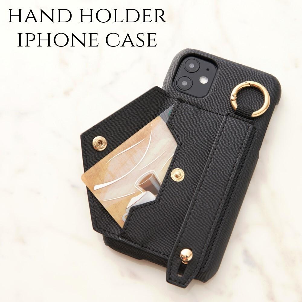 iphone ケース おしゃれ iphone SE(第二世代) 11 Pro バンド ホルダー iphone8 iphoneXR 7 plus リング付き スマホケース 大人 可愛い ブラック