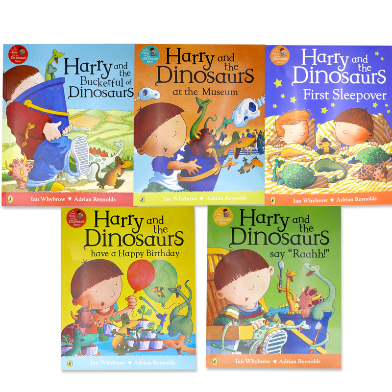 「Harry and the Dinosaurs」シリーズ5冊セット