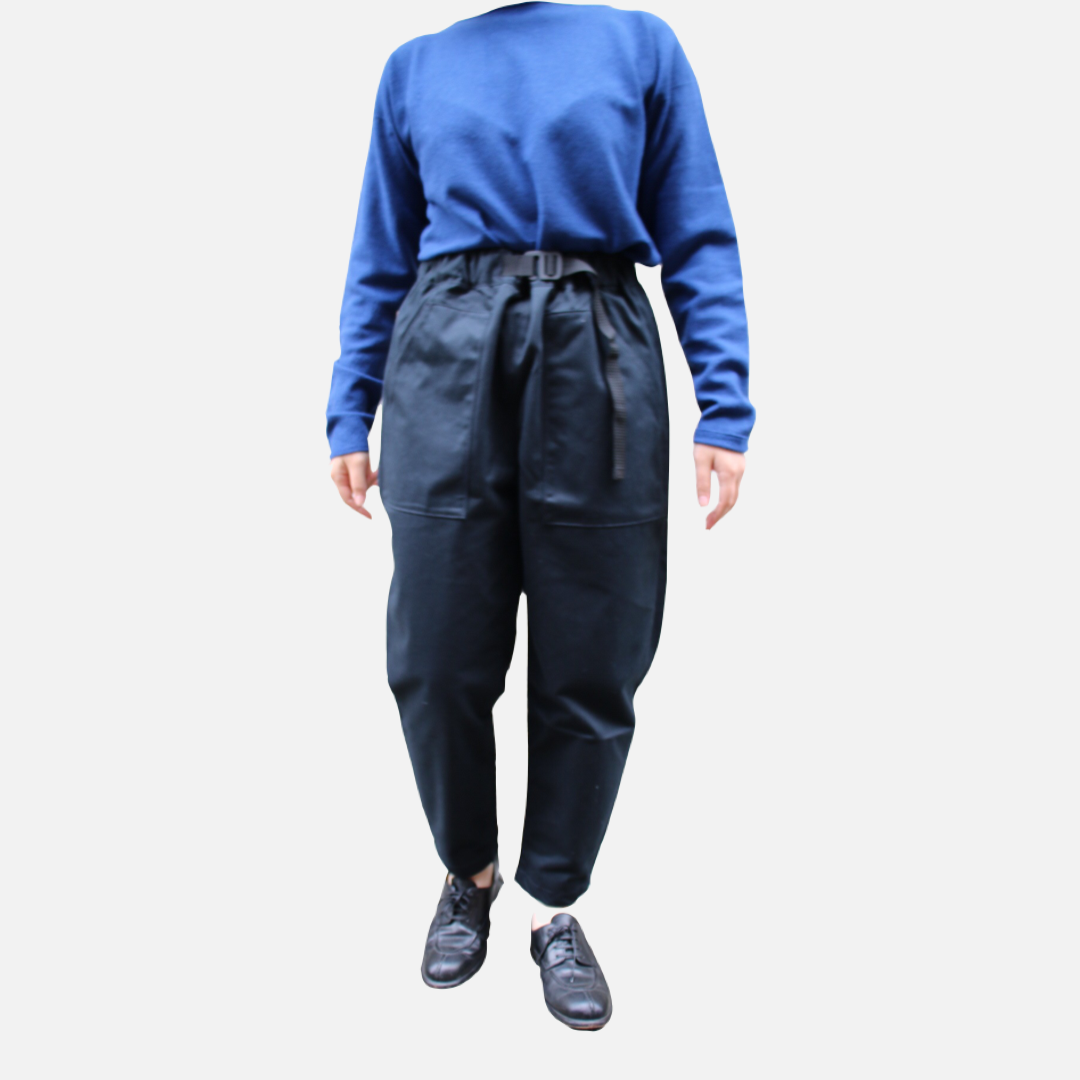 ASEEDONCLOUD/アシードンクラウド Handwerker/ハンドベーカー easy trousers/イージートラウザーズ Charcoal #001502