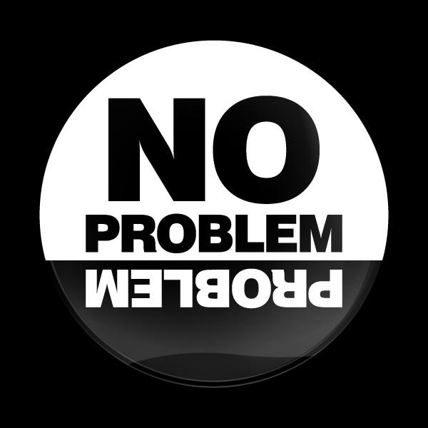 ゴーバッジ(ドーム)(CD0645 - NO PROBLEM) - 画像1