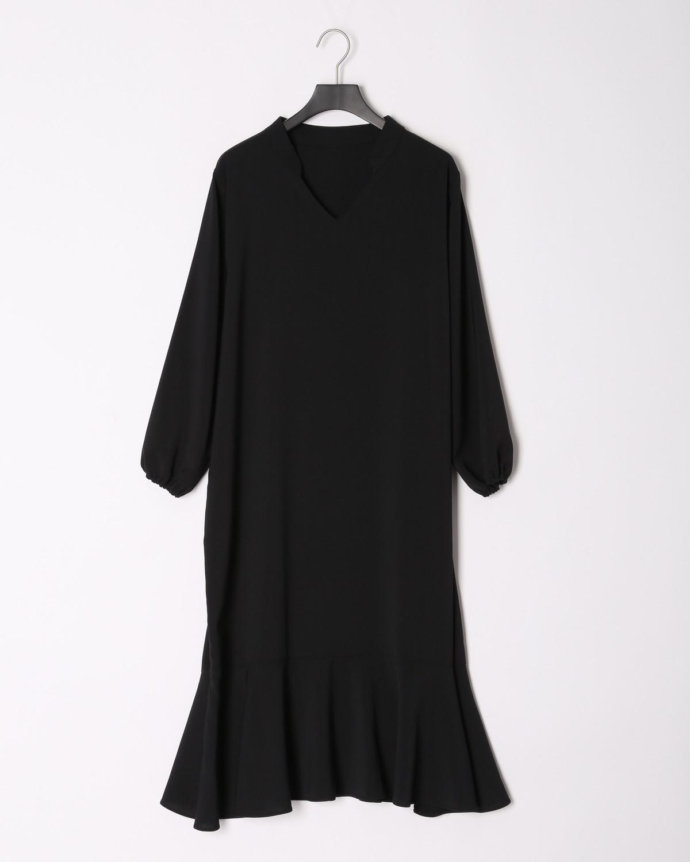 DRESドレス マーメイドラインワンピース/ブラック
