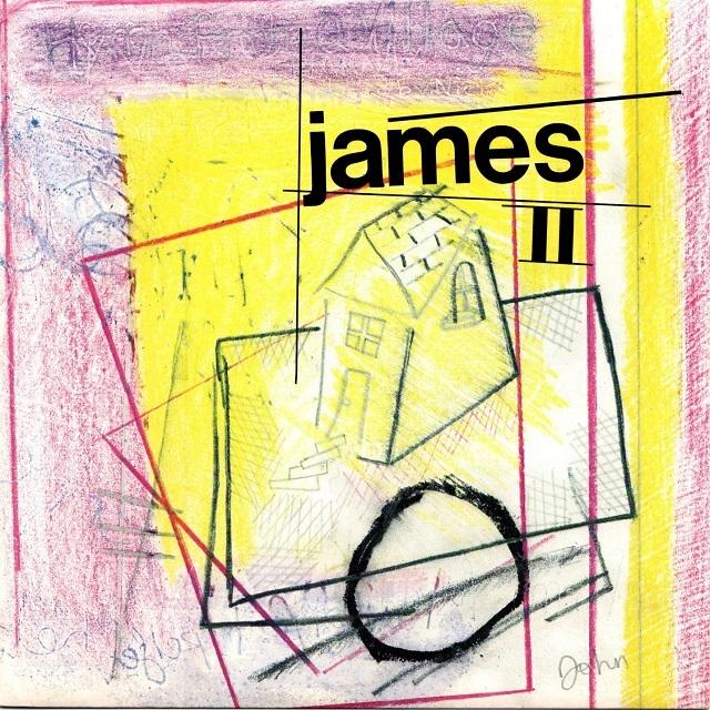 【7inch・英盤】James / james Ⅱ