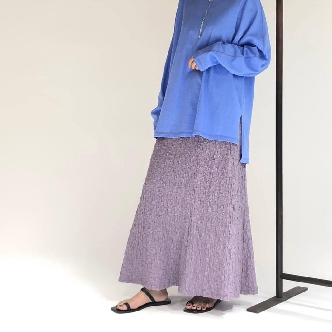 【 CHIGNON 】- 5611-093  - シャーリングカットスカート