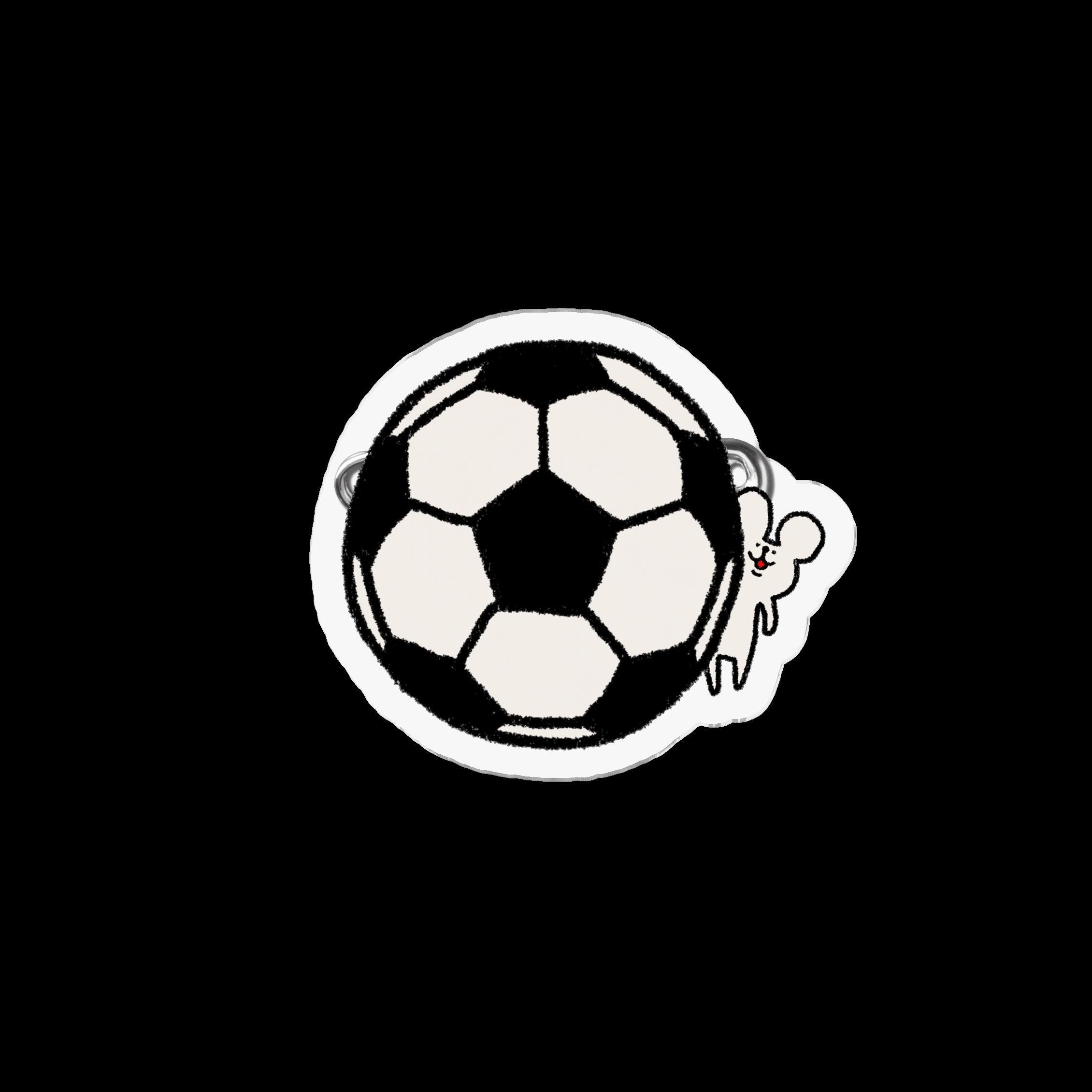 アクリルバッジ|サッカーしようや!