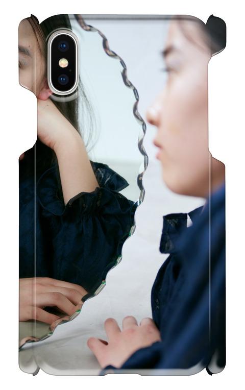 《受注生産》iphoneXケース:mirror&girl