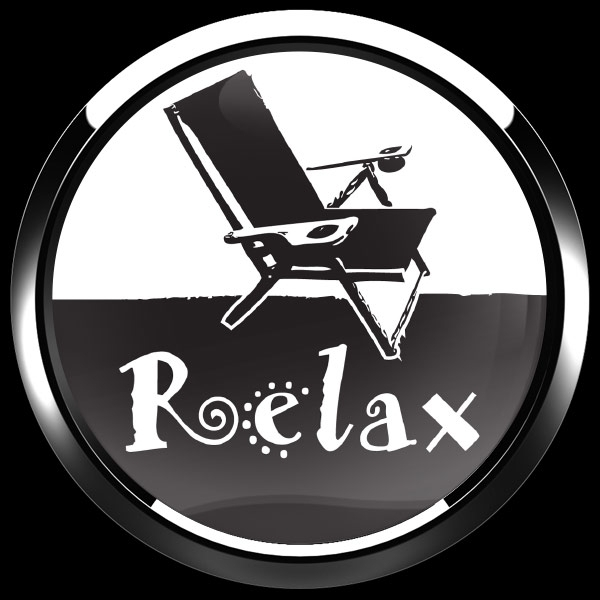 ゴーバッジ(ドーム)(CD1009 - RELAX) - 画像3