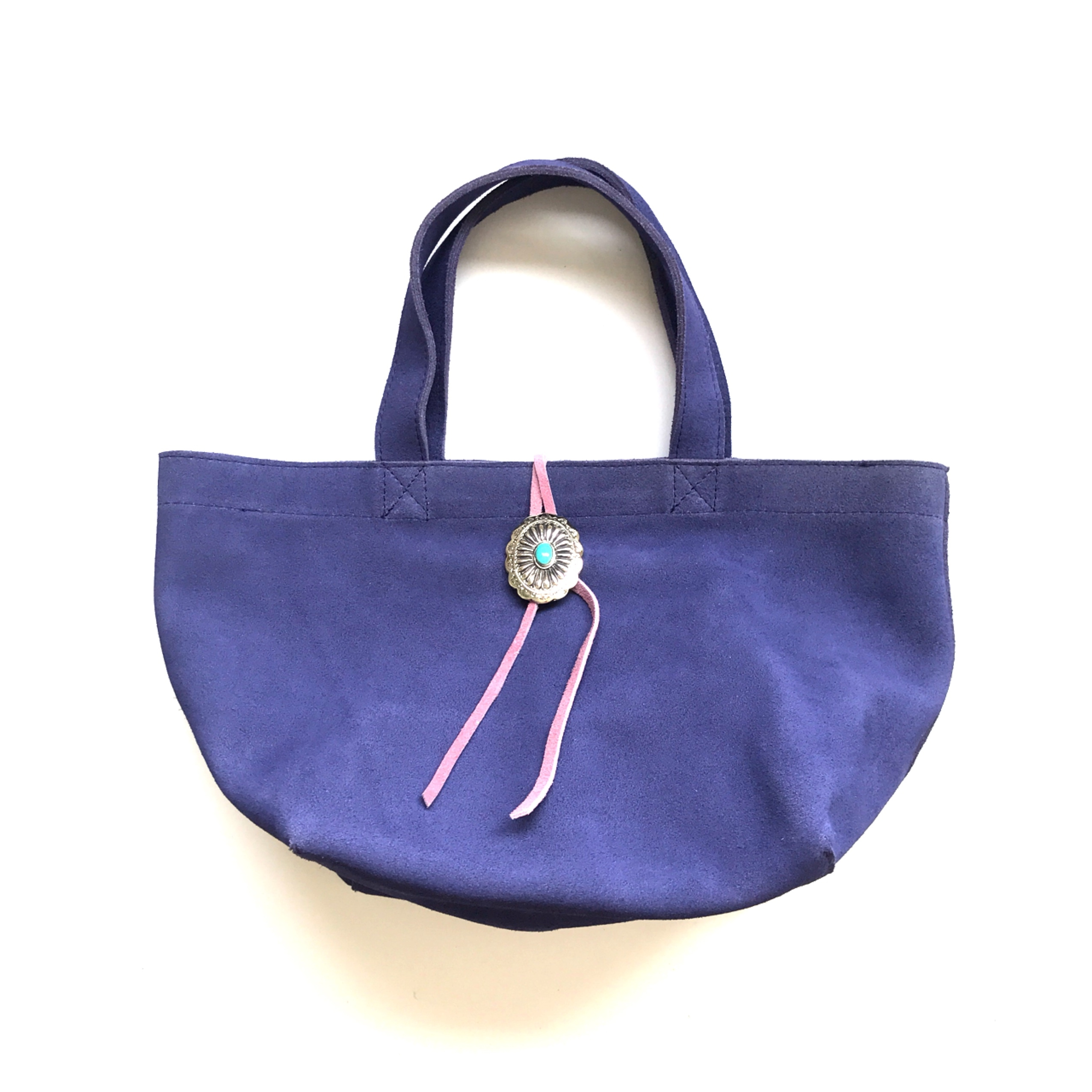 concho totebag 〈blue purple〉