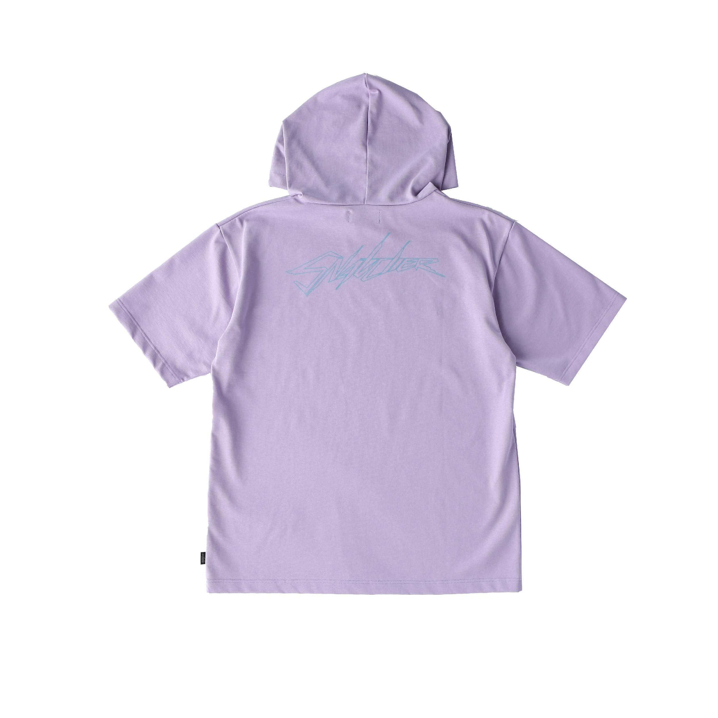 SNATCHER hoodie T-shirt / PURPLE - 画像2