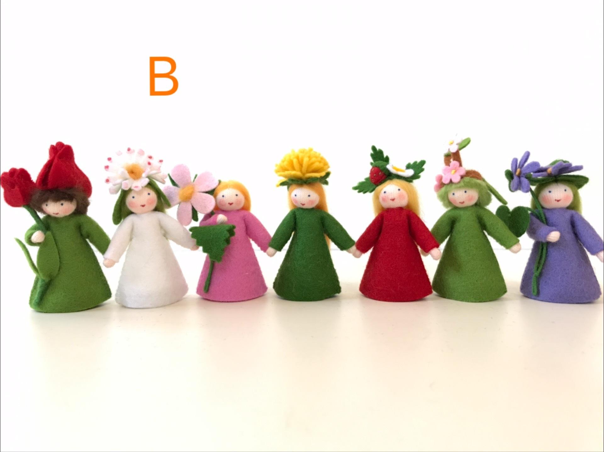 お花の妖精 7人セット B