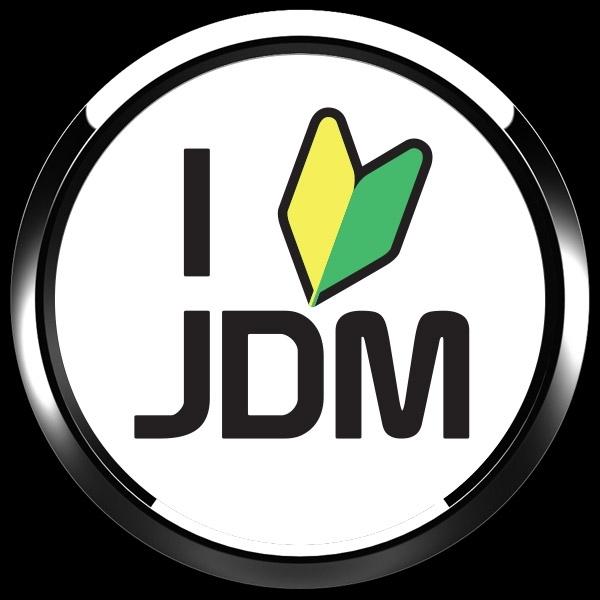 ゴーバッジ(ドーム)(CD1113 - CLUB - I LOVE JDM) - 画像2