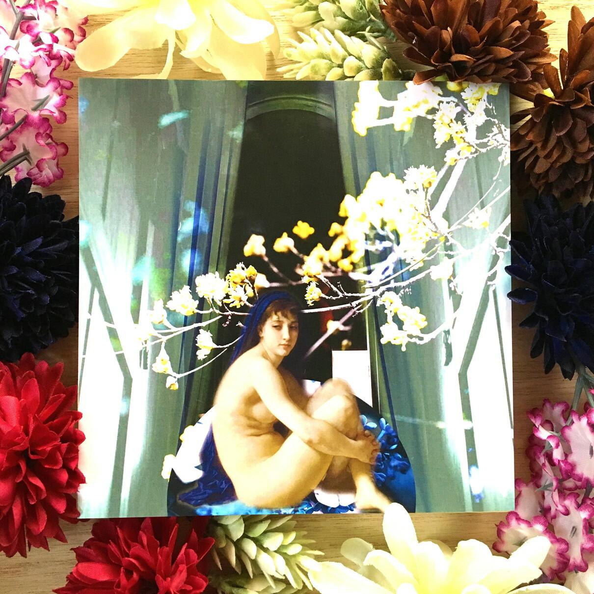 絵画 縁起画 モダン シェアハウス アートパネル アート 水彩画 自然 人物画 14cm×14cm 一人暮らし 送料無料 インテリア アートパネル 雑貨 壁掛け 置物 おしゃれ 画家 : MIYUKI K 作品 : 青春