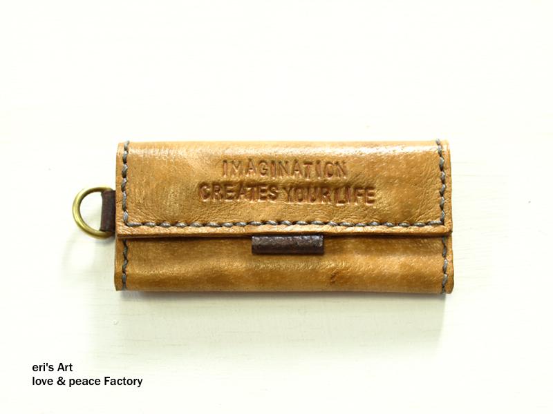 【サンプル品SALE】てのひらすっぽり財布 ブラウン×ダークブラウン OD-W-01-03-sale