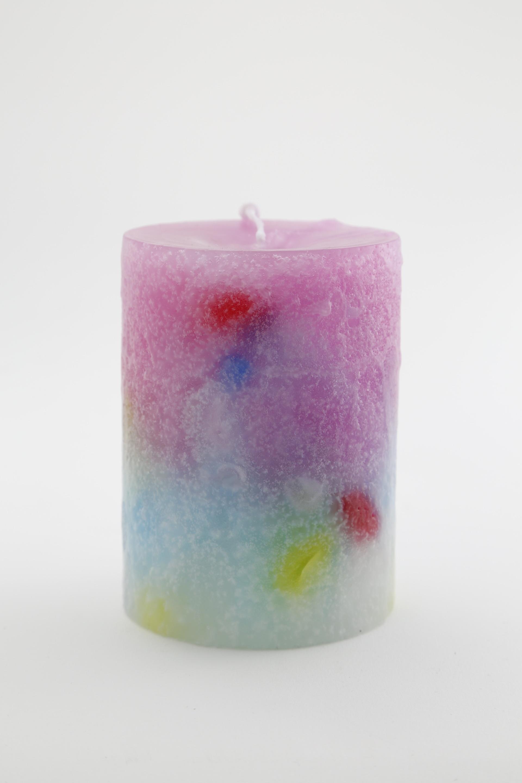 Candle Cylinder 76 1800 No.1  キャンドル
