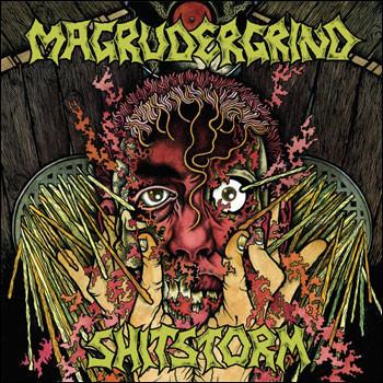 Magrudergrind / Shitstorm – Split(CD)