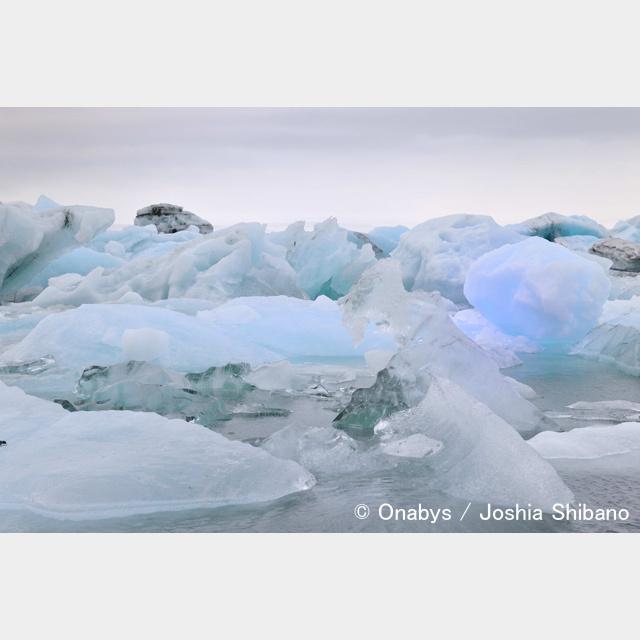 No.12-サイズM『氷河湖 Jökulsárlón #1』