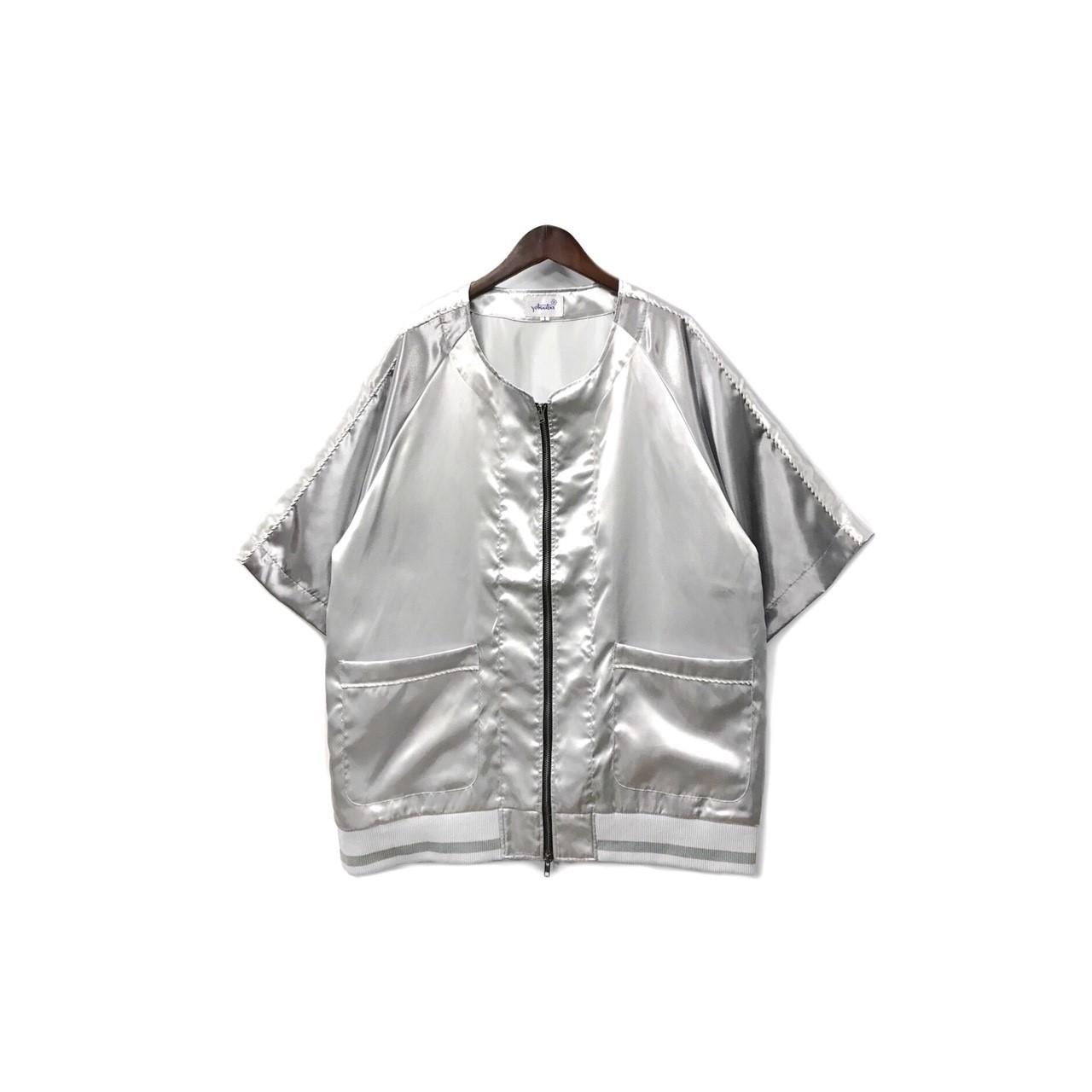 yotsuba - Souvenir baseball Shirt / Silver ¥26000+tax