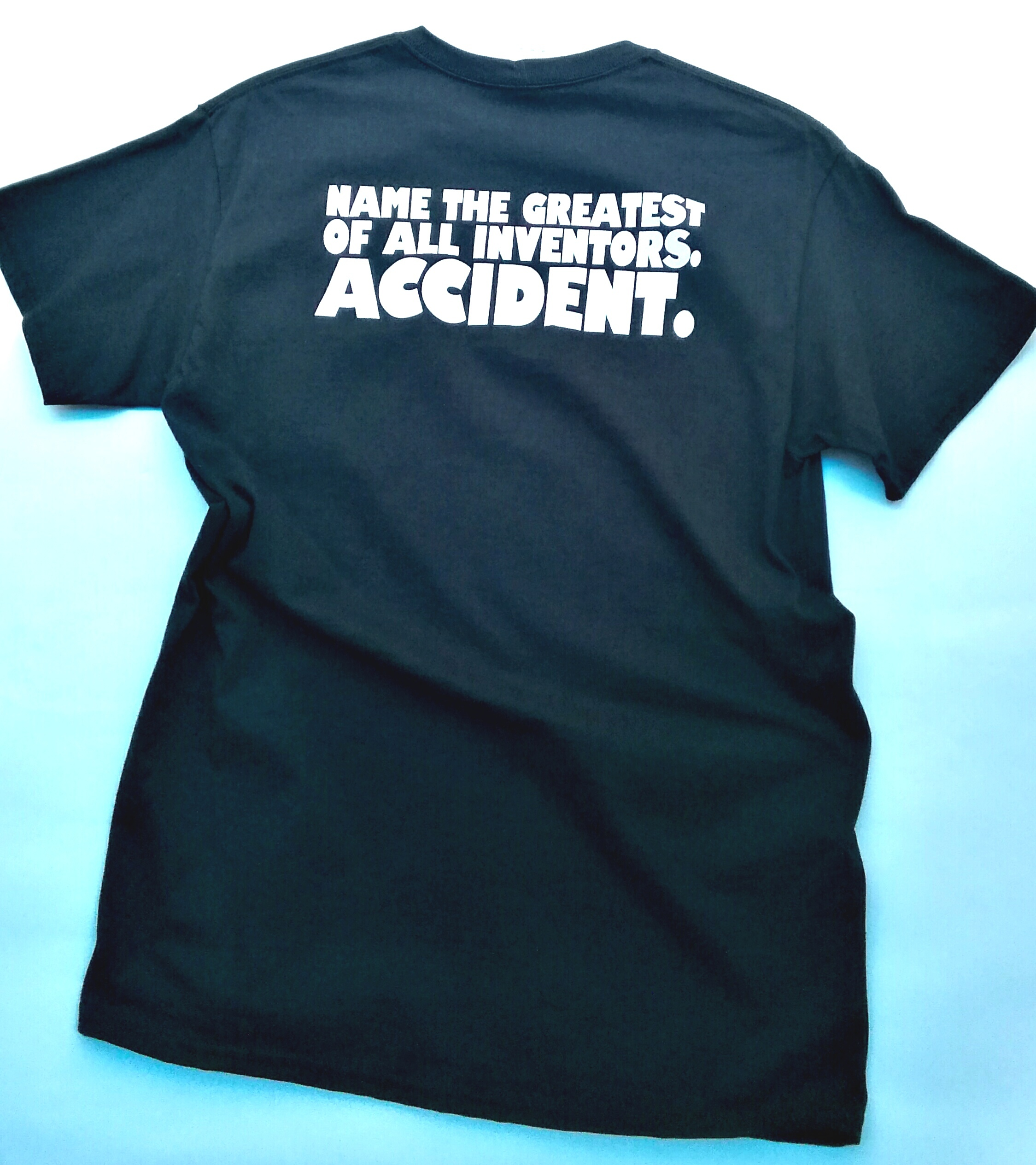 ACCIDENT Pocket Tee BLACK