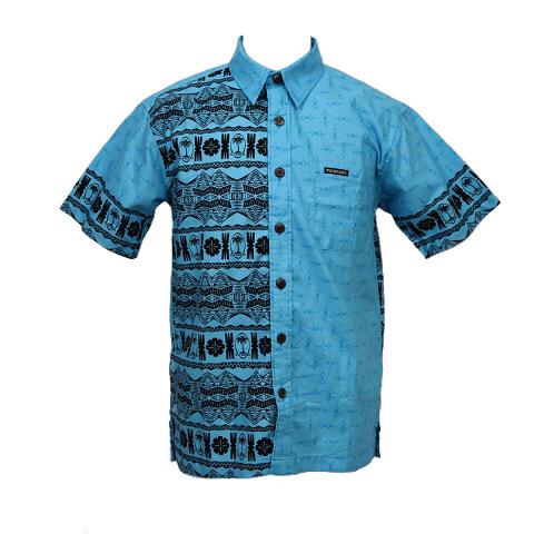 Fiji Rugby 2019 Aloha shirt Blue