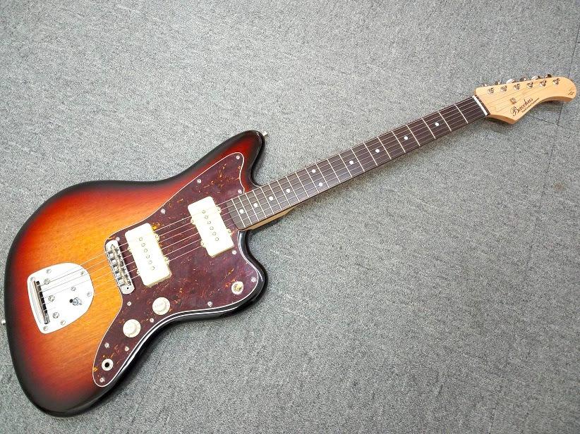 Bacchus (バッカス) BJM-70B 3TS ジャズマスタータイプ エレキギター
