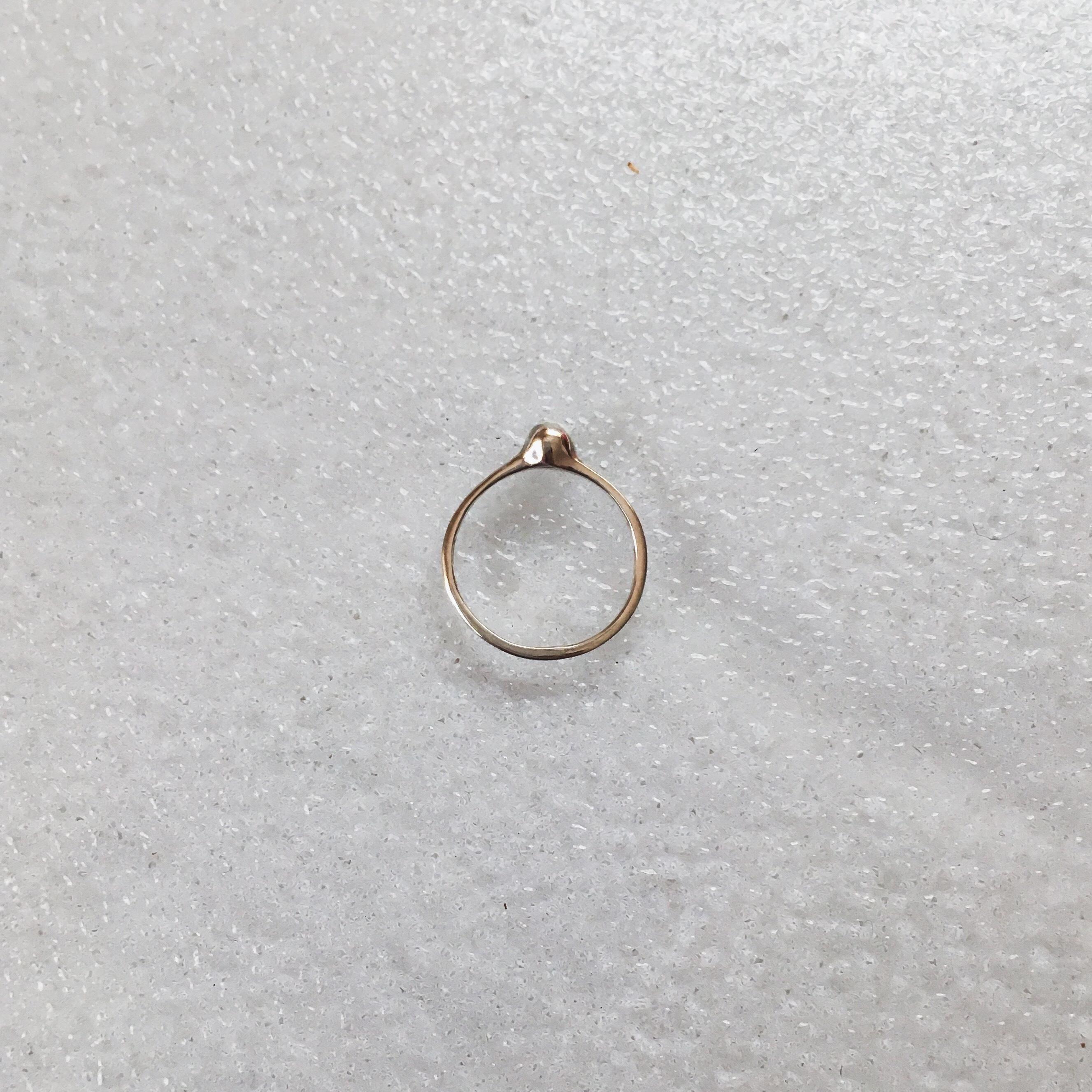 【受注生産】R-S6 silver925 pinkiering