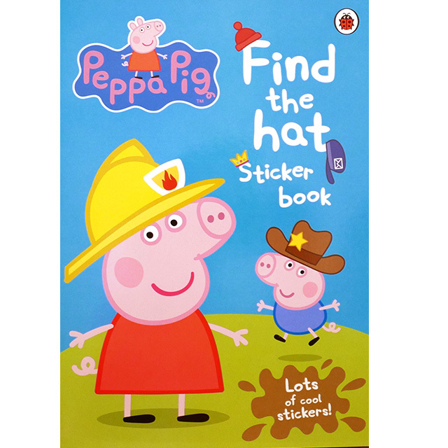 Find the Hat Sticker Book(ペッパピッグ)