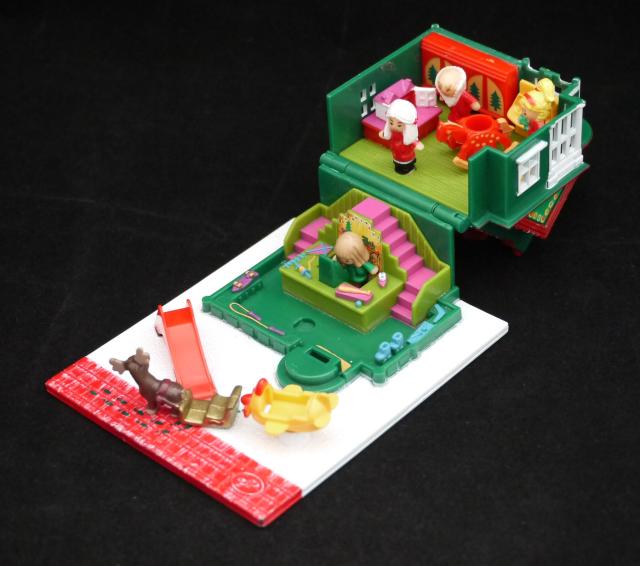 ポーリーポケット ホリデー・トイショップ 1993年完品 ポーリータウンシリーズ