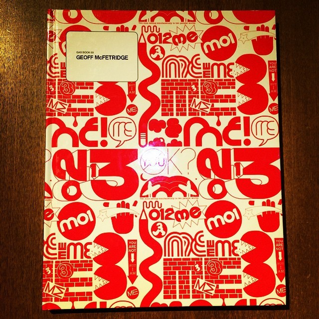 デザインの本「Geoff McFetridge (Gas book)」 - 画像1