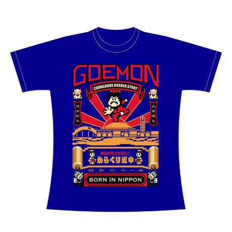 がんばれゴエモン!からくり道中 「GOEMON」 Tシャツ / GAMES GLORIOUS