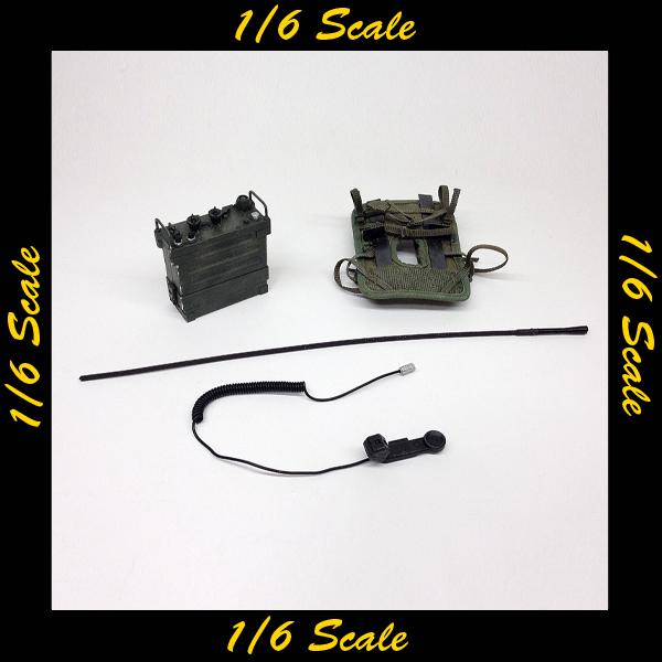 【01646】 1/6 Ace PRC-25 無線機セット