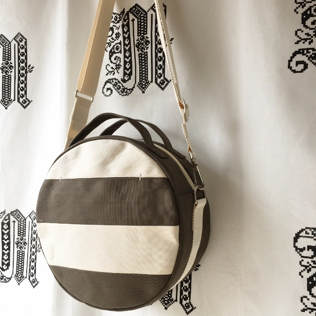 【受注製作】DOTLINE BAG | KHAKI×ECRU