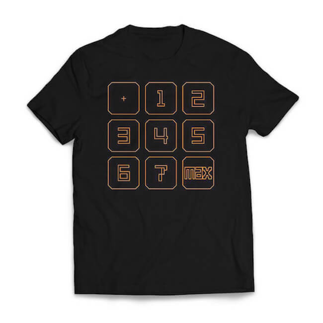 【Rez Infinite】Tシャツ(Exclusive Design by Phil Fish) - 画像1