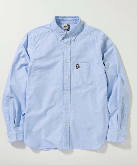 2018年春夏新作  CHUMS (チャムス) OX Shirt (オックスシャツ) Blue Booby (ブルーブービー)