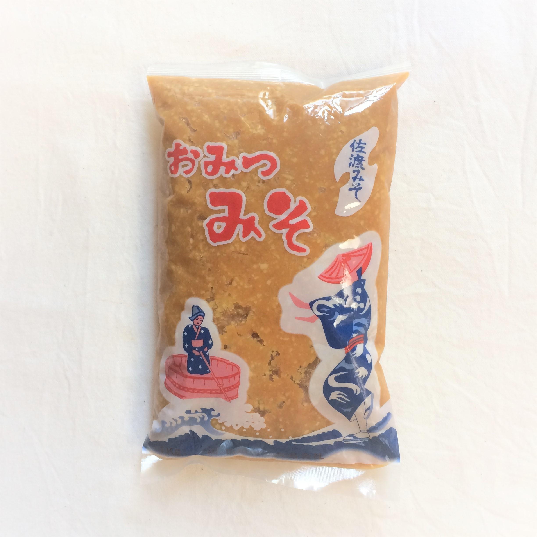 新潟県・佐渡島のおみつ味噌
